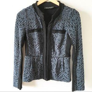 Anthropologie Nanette Laporte Lace Blazer Jacket